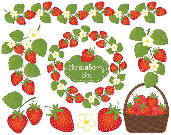 Berry clipart strawberry Strawberry Clipart Clipart OFF SALE