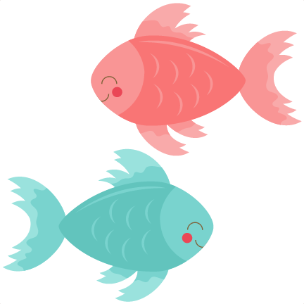 Seafood clipart mediterranean Cute cricut Fish file betta