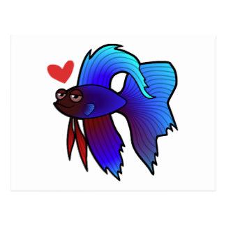 Betta clipart blue Love Fighting Fish Betta Gifts