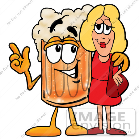 Beverage clipart beer Beer Woman With Clipart Beverage