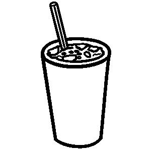 Soda clipart character 4FFF 972E line beverage clipart