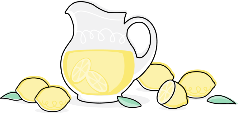Beverage clipart lemonade pitcher Lemonade Lemonade Page Clip In