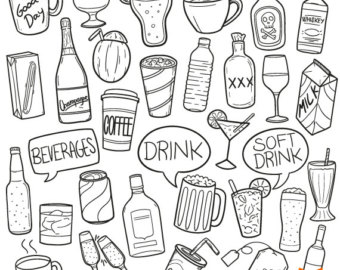 Beverage clipart pub Beverages Icons Etsy Stamp Alcohol