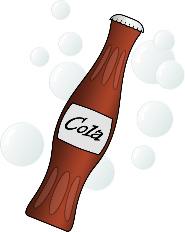 Beverage clipart soda bottle On Use clip use a