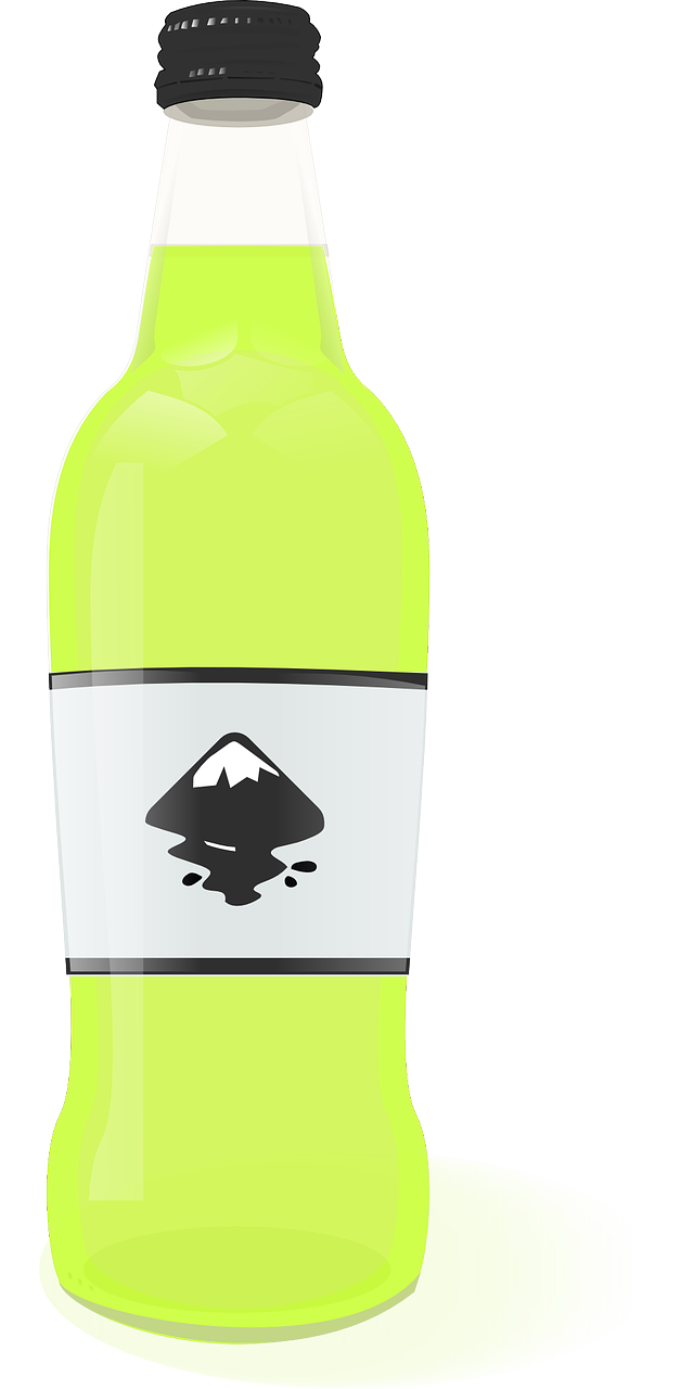 Beverage clipart soda bottle Food & clip this lime