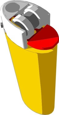 Lighter clipart Bic clip download  Yellow