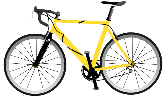 Bicycle clipart #15