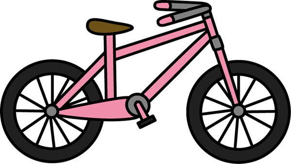 Bicycle clipart stationary bike Clip Bicycle Art Pink Bicycle