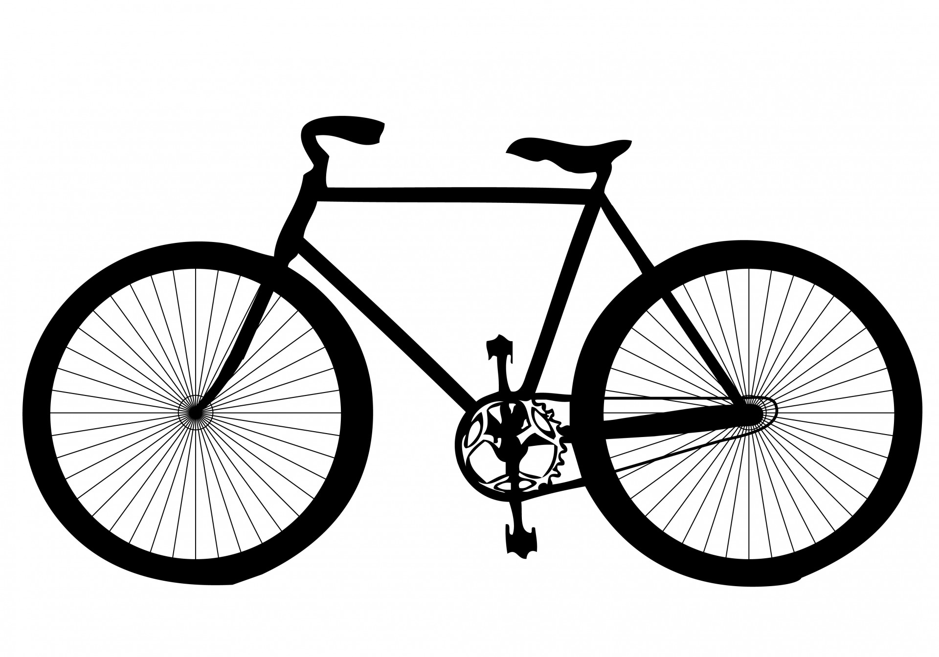 Fixie clipart race bike Domain Bicycle Photo Free Public