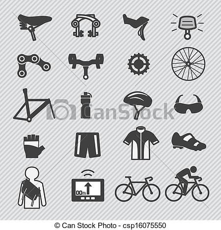 Bicycle clipart bicycle part Part and of and equipment