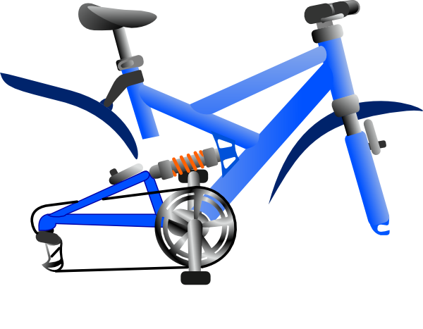 Bicycle clipart bicycle wheel Art this vector No