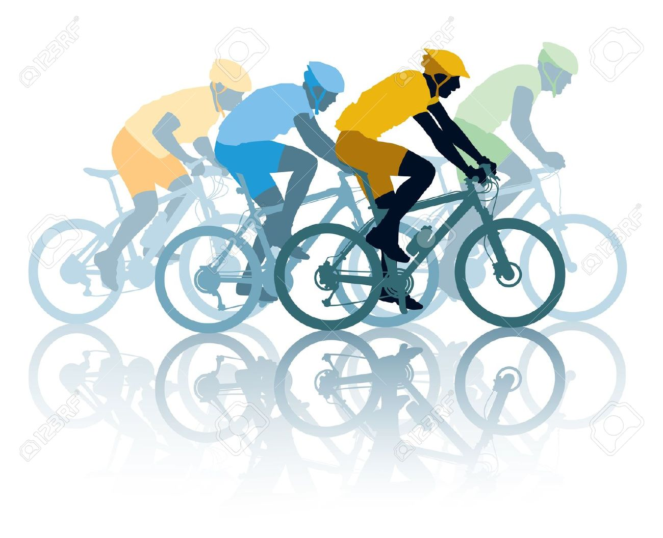 Bike clipart cycle race Clipart clipart cyclists Racing cyclist