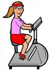 Bicycle clipart exercise Free Clipart Exercise bicycle bicycle