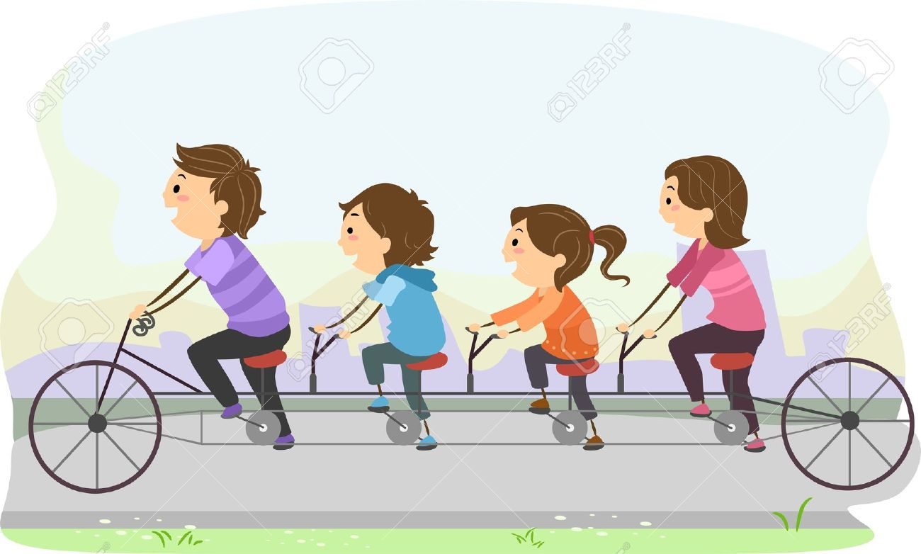 Bicycle clipart family cycling Bike Advice Family Tips Family