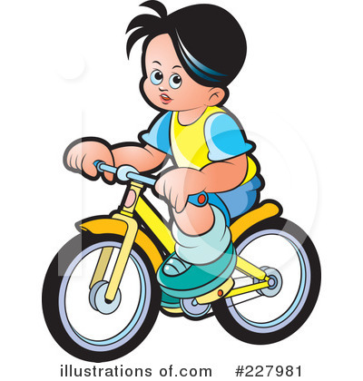 Bicycle clipart kid tricycle (RF) Clipart Lal Illustration by