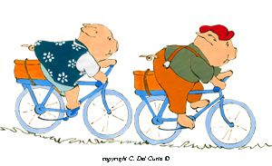 Bicycle clipart kid tricycle Bicicletta art Bici clip Maialini
