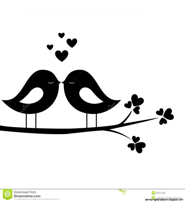 Kisses clipart cartoon Clipart ideas Clipart Love Bird