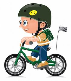 Bicycle clipart montar Bicycle en I Illustration Pronk