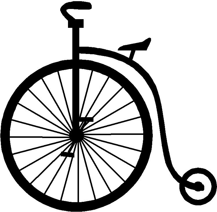 Bicycle clipart old fashioned Of Mtn Rim Bike Summer
