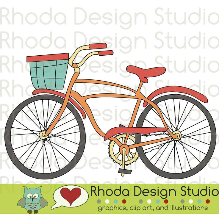Bicycle clipart old thing Best  Basket With move
