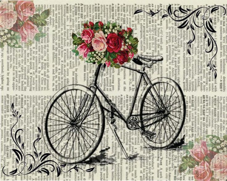Bicycle clipart old thing Best Mais ideas 25+ Vintage