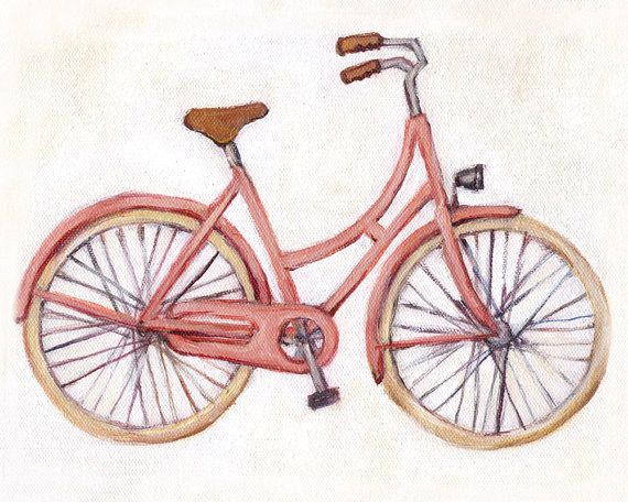Bicycle clipart pink bike Illustrations by 00 Bikes best