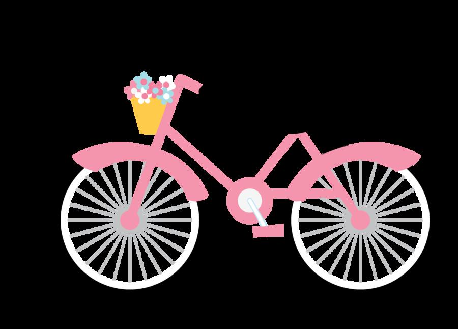 Bicycle clipart pink bike Bike pics Pinterest flashcards ·