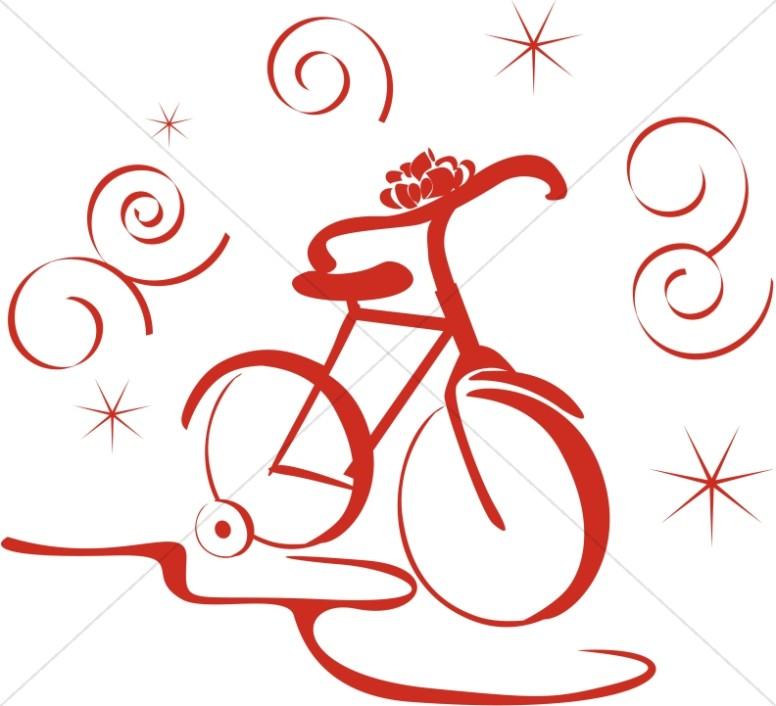 Bike clipart christmas Bike Religious New Bike Clipart
