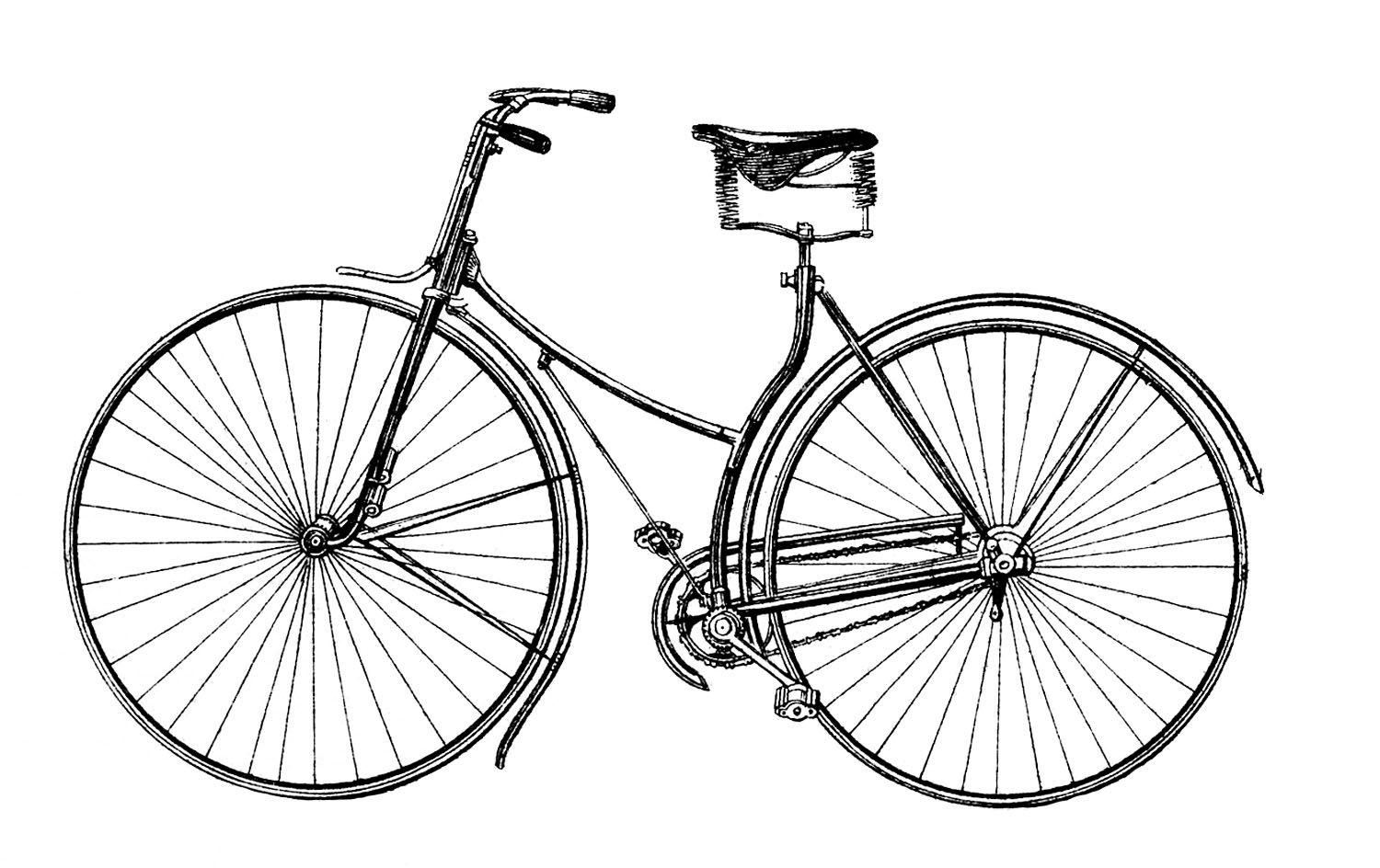 Bicycle clipart retro bike Art bike bicycle clipart 383