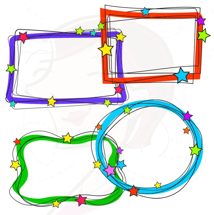 Bicycle clipart school supply Clipart Free Frames  Panda