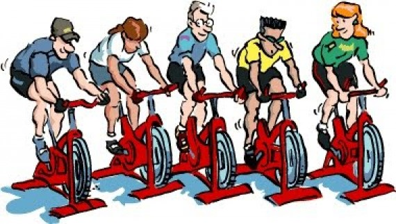 Bicycle clipart spin bike Clipart Clipart spin Class class