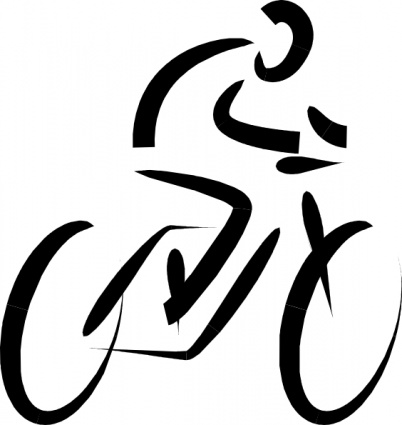 Bicycle clipart spin bike Free Clipart Clipart Cyclist Images