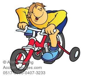 Bike clipart training wheel clipart #6