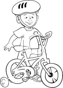Bicycle clipart training wheel A  Learning Ride Wheels
