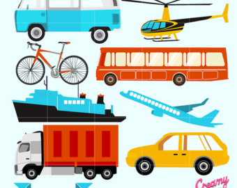 Bike clipart transportation vehicle Art Clipart Transportation Clipart Motorcycle