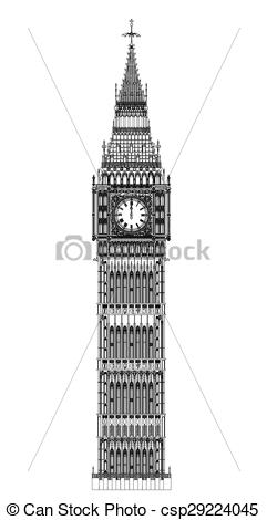 Big Ben clipart drawn Big London Ben at The