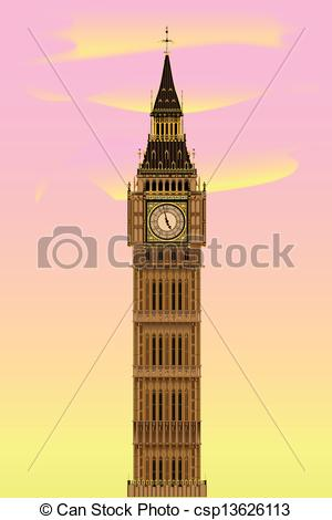 Big Ben clipart drawn London Big Ben Download Clipart