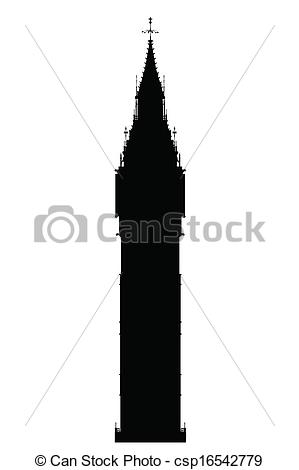 Big Ben clipart drawn Big  Ben Silhouette landmark