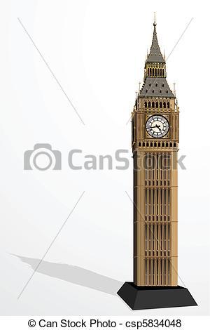 Big Ben clipart simple Ben Vector Tower of