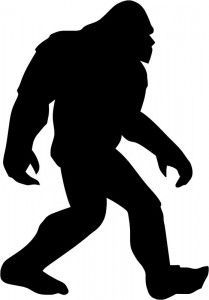 Bigfoot clipart And Clipart Art Silhouette on