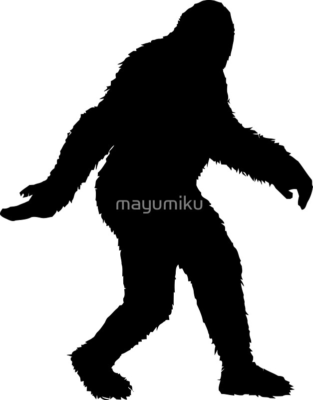 Feet clipart big foot Bigfoot Download drawings Download #14