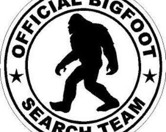Big Foot clipart Bigfoot Art Silhouette Clipart Sasquatch
