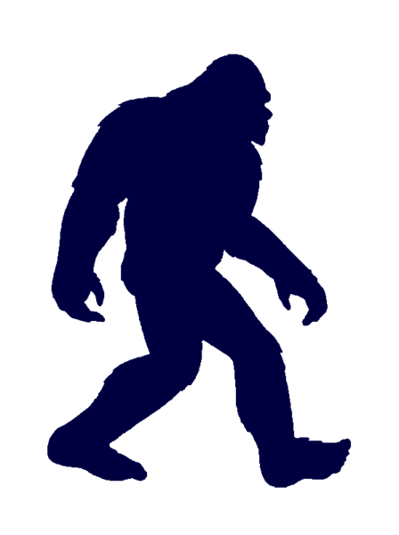 Bigfoot clipart Cut Free Clker clip