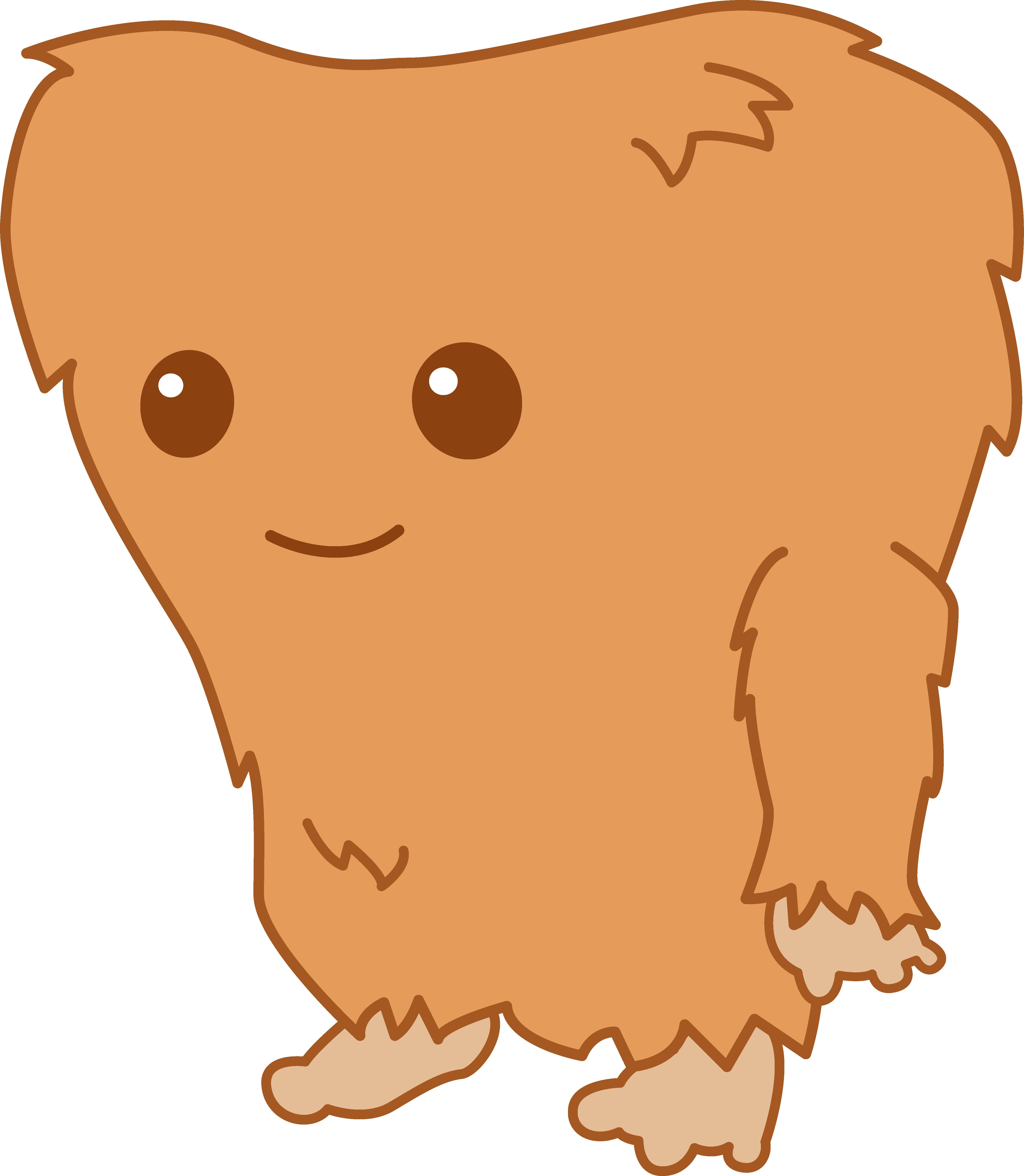 Bigfoot clipart Monster Art Little Clip Little