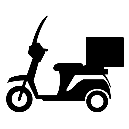 Bike clipart bike delivery Icons bike (35+) delivery delivery