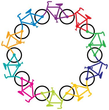 Bike clipart border #9