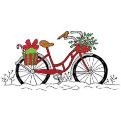 Bike clipart christmas Blue baby this Carriage Clipart