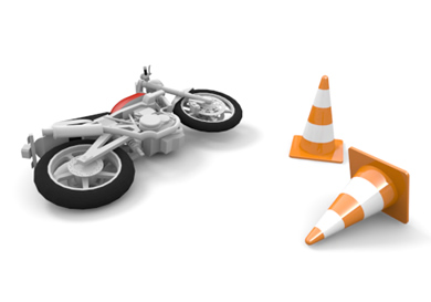 Bike clipart crashed / / falling Picture motorcycle