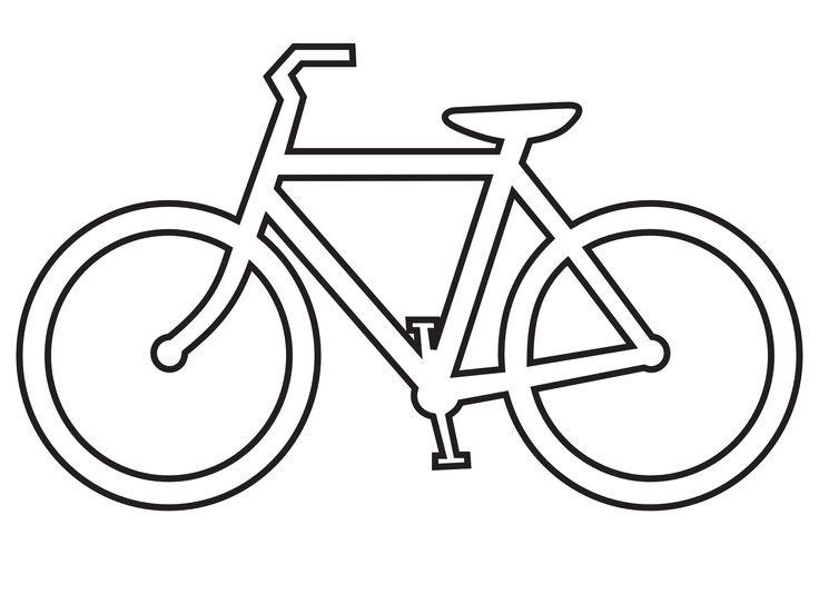 Bike clipart drawn White 7 on images Pinterest