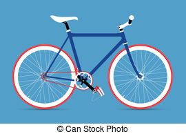 Bike clipart fixie GEAR BICYCLE Illustration  clip
